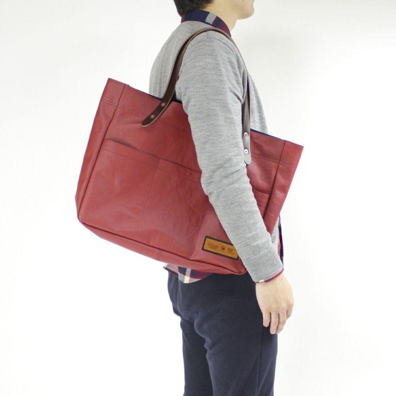コミュート 横型トートバッグ 肩掛けできて持ちやすい
