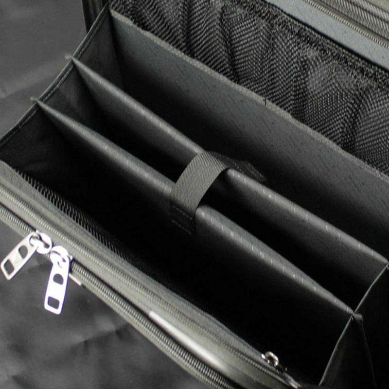 ファンクションギアプラスシリーズ横型2輪キャリー36c 前面ポケット