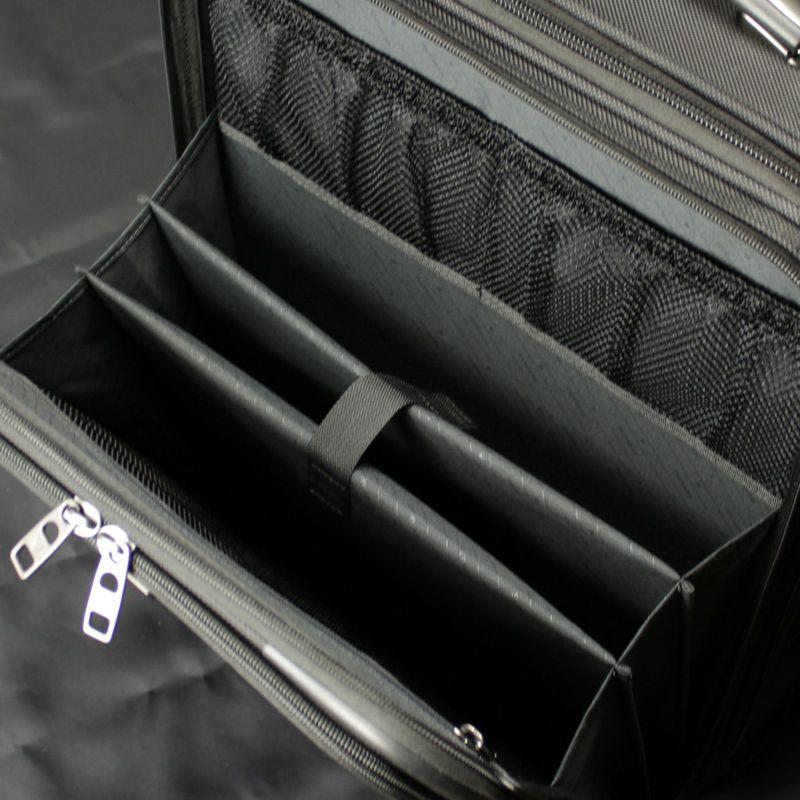 ファンクションギアプラスシリーズ縦型2輪キャリー45c 前面ポケット