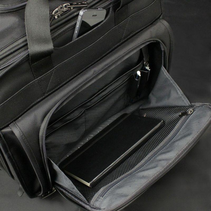ファンクションギアプラスシリーズ横型2輪2本手キャリー 前ポケット