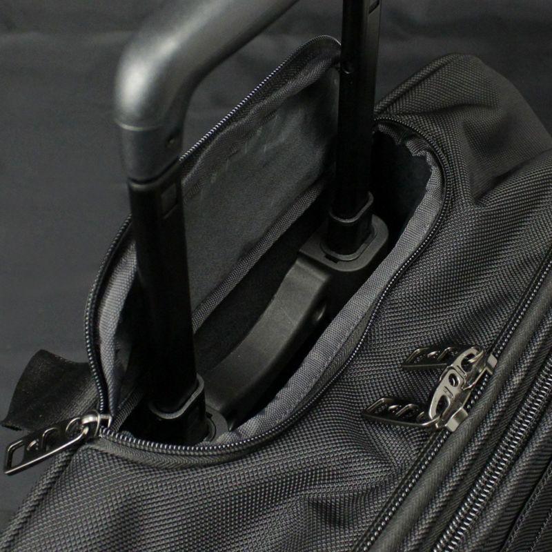 ファンクションギアプラスシリーズ横型2輪2本手キャリー 収納可能な伸縮ハンドル