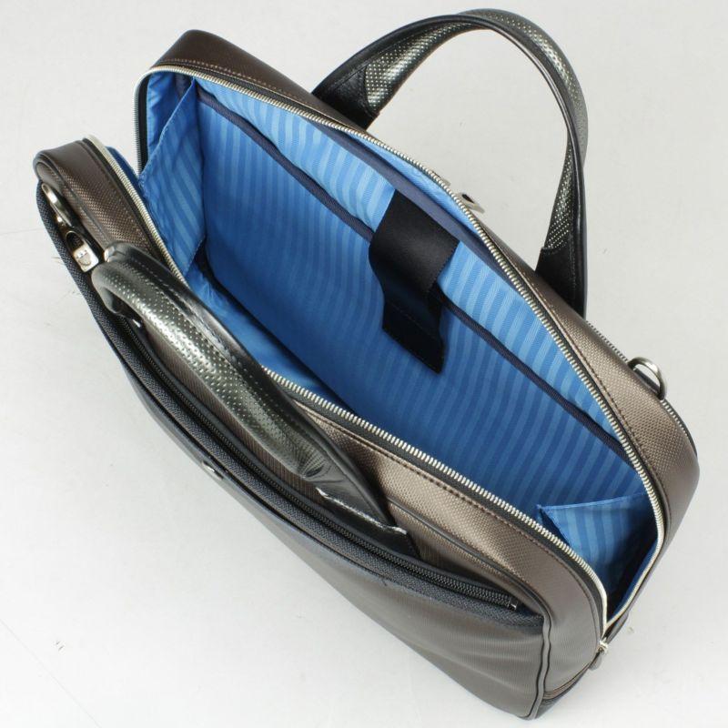 豊岡鞄 MIJリュック ノートパソコンの収納に便利なクッションポケット