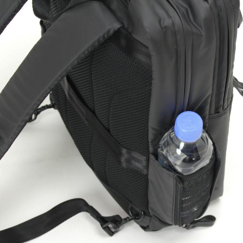 アルスフェルトリュック ボトルホルダーに便利なサイドポケット