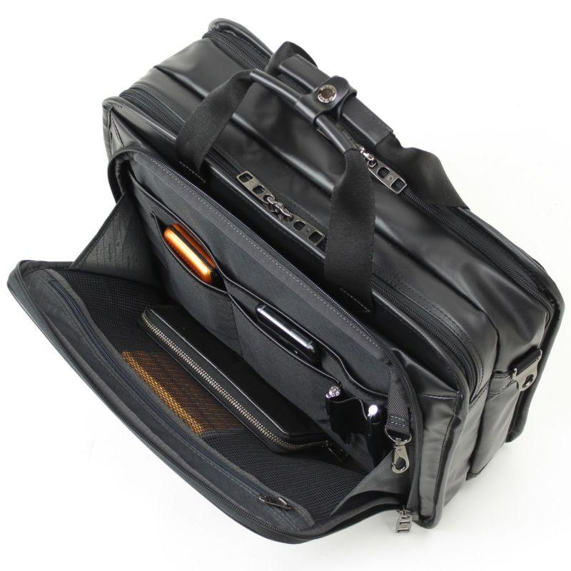 インターシティコーティングブリーフ2層3WAY 小物収納に便利な前ポケット