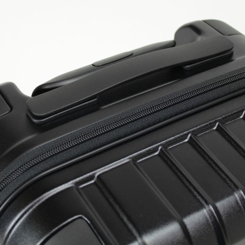 ヘリテージ機内持込対応サイズファスナーキャリー トップハンドル