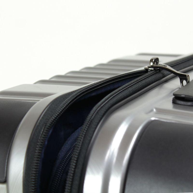 ヘリテージファスナーキャリー セキュリティ性の高いYKK製のダブルコイルファスナー