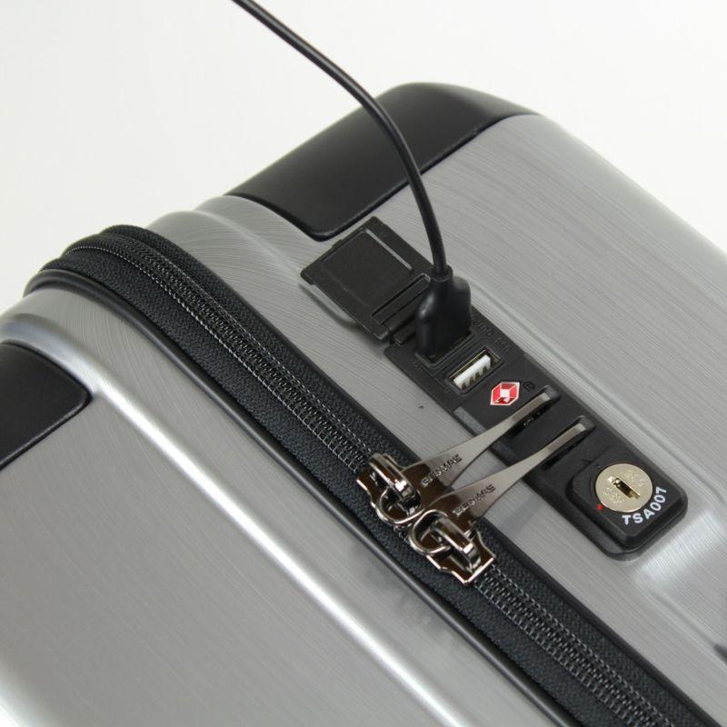 ヘリテージファスナーキャリー USBポート