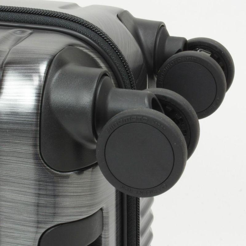 インターシティ HINOMOTO製のストッパー付き静音キャスター