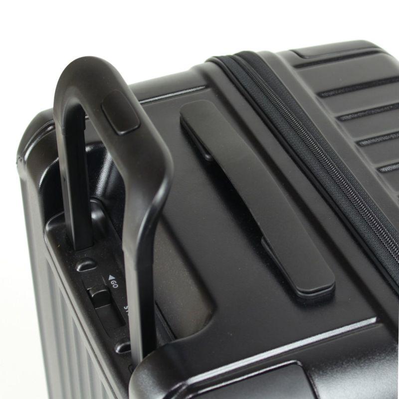 ヘリテージファスナーキャリー フラットで扱いやすいトップハンドル