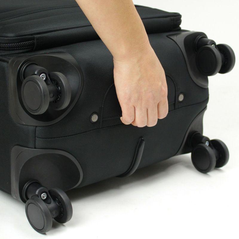 ディグリー 4輪スーツケース 荷物の上げ下ろしに便利な補助ハンドル