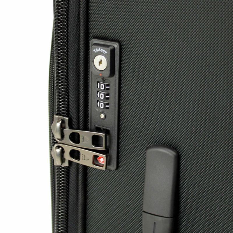 ディグリー 4輪ビジネスキャリー 鍵がいらないナンバーロックタイプのTSAロック