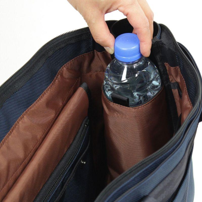 スタット ビジネストート 吸水・速乾機能のある生地を使用したペットボトルホルダー