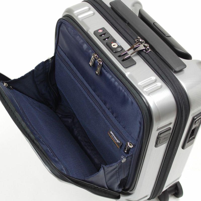 LCC機内持ち込みできるキャリーケースの書類収納に最適なフロントポケット